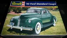 REVELL 1940 FORD STANDARD COUPE 1/25 Model Car Mountain OPEN