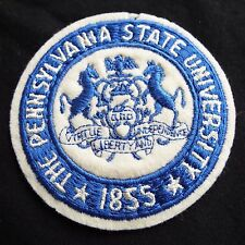 Vintage Pennsylvania Penn State University Seal/Crest Felt & Embroidered Patch
