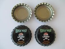 ( BRAINWASH ) 100 New uncrimped  bottle, cap-crowns. Homebrew,Soda,Beer,Category