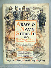 Army & Navy Store CATALOG - 1919 ~ Army and Navy, surplus, military goods