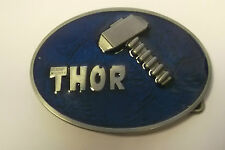 THE MIGHTY THOR ENAMELLED MARVEL COMICS BELT BUCKLE - TAKES 4CM BELT