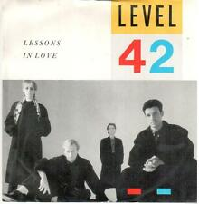"4131-13  7"" Single: Level 42 - Lessons Of Love"