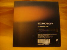 cardsleeve single CD ECHOBOY Turning On 4TR 2001 alt rock