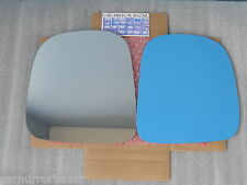 B710L 96-02 CHEVY EXPRESS GMC SAVANA Mirror Glass Driver Side LH NEW + Adhesive-