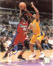 Darius Miles autographed 8x10 Los Angeles Clippers #2 Free Shipping