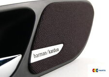 BMW NEW GENUINE E46 3-SERIES 2 DOOR HANDLE SPEAKER COVER PAIR HARMAN KARDON L+R