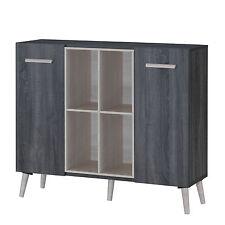 Scandinavian Multi Function Cabinet / Buffet sideboard (Sonoma Grey Oak) MFC9712