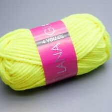 LANA Grossa 4 you 55 - 501 Giallo Neon LANA 50g