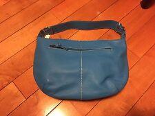 NWT Gap Blue Leather Shoulder Bag