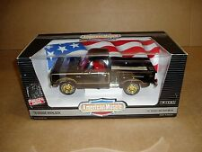 1/18th scale 1978 Dodge Warlock pickup truck Ertl American Muscle box black