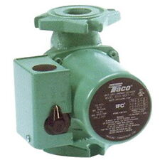 Taco 0015-MSF2-IFC Steel Cartridge Circulator With Integral Flow Check, 29 gpm