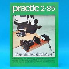 DDR practic 2/1985 Seifenkisten Spielfallschirme Lampenschirme Strickleitern U