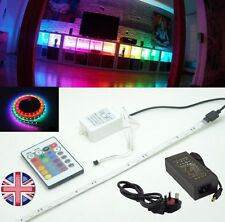 INDUSTRIAL QUALITY 5 Metre MULTICOLOUR LED Strip, Power Supply, Remote Flasher
