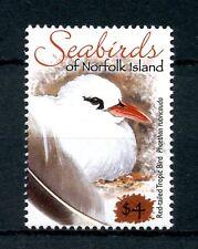Norfolk Islands 2012 MNH Seabirds Tropicbird $4 OVPT 1v Set Birds Stamps