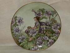 "Plate flower fairies CICELY MARY BARKER ""The Mallow Fairy"""