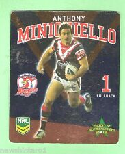 TIP TOP NRL 2013 RUGBY LEAGUE FOOTY SUPERSTARS CARD #27  ANTHONY MINICHIELLO