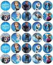 Frozen Cupcake Toppers Edible Wafer Paper BUY 2 GET 3RD FREE