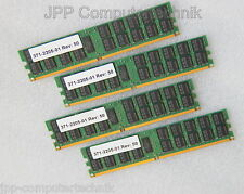 16GB 4 x 4GB 371-2205-01 596-6957-01 RAM SUN FIRE SunFire DDR2 CL5 667 MHz 2Rx4