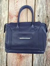 WALTER by Walter Baker Eggplant Purple Large Leather Tote Purse