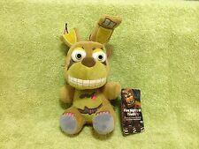 "Five Nights at Freddy's Nightmare Springtrap Plush Toy 6"" Plushie Funko FNAF New"