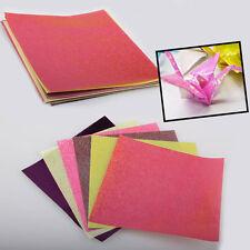 Sparkling Shiny Lucky Glitter Paper Crane Bird Boat Animal Star Origami Colorful