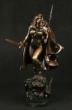 VALKYRIE FAUX BRONZE STATUE BY BOWEN DESIGNS, SCULPTED BY RANDY BOWEN