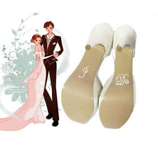 HOT Bridal and Groom Shoes Sticker Wedding Decal Accessories Acrylic CN