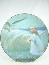 Vintage plate Precious Moments Collection Thornton Utz A Friend in the Sky 1979