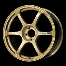 Advan Racing RGII 17x8.0 +45 GOLD FOR 13+ Subaru BRZ/Scion FRS/FT86 / 02-07 WRX