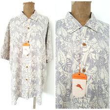 New Tommy Bahama Shirt Size XLarge Progressive Rainflorist 100% Silk Hawaiian