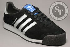 ADIDAS SAMOA VINTAGE F37210 CORE BLACK METALLIC SILVER OFF WHITE DS SIZE: 10