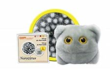 GIANTMICROBES ORIGINAL VIRUS DI NORWALK Norovirus - Stomach flu - Peluche virus