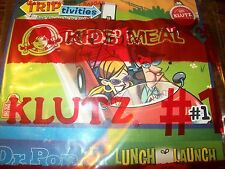Wendy's Klutz Trip Activities Dr. Pop and Lunch Launch Kids' Meal Toy Coupon #1