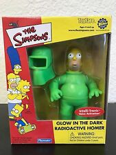 The Simpsons Glow In The Dark Radioactive Homer Figure Playmates Toys ToyFare