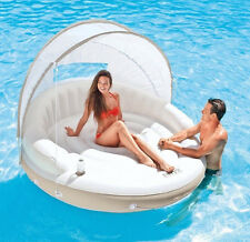 Floating Pool Lounger Inflatable Lilo Sun Lounge Chair Air Bed Sun Float Raft