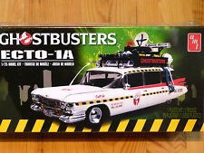 AMT 1:25 Ecto-1A Ghostbusters Cadillac Car Model Kit