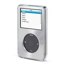 Silver Apple iPod Classic Aluminum Plated Hard Case Cover 6th 80 120gb 7th 160gb