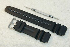 Rubber strap compatible with CASIO 19mm DEP510 DEP6000 AW600 AW705 TGW100