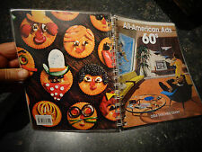 Ancien Agenda All American Ads 60s Vintage Way of Life Publicités Design Us 2004