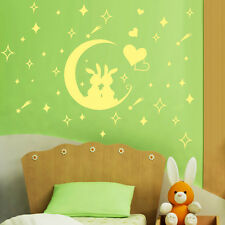 Light Green Glow In The Dark Decal Baby Kid Room Gift Wall Sticker Home Decor