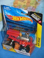 HOT WHEELS MONSTER JAM DERAILED #17 OFF-ROAD FIGURE ***BRAND NEW & RARE***