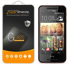 2X Supershieldz Tempered Glass Screen Protector Saver Shield For HTC Desire 612