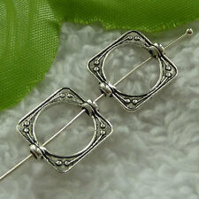 free ship 400 pieces tibet silver square spacer 15x14mm #2883