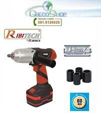 Chiave ad impulsi a batteria 18V Litio Ribitech - PRLCC18