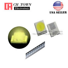 100PCS 2835 Warm White Light SMD SMT LED Diodes 0.8 Thick Ultra Bright USA