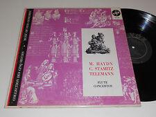 FLUTE Concertos NM- Haydn Stamitz Telemann Camillo Wanausek Heiller DL 810 Vox