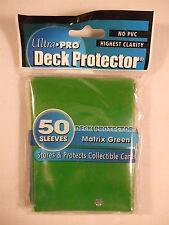Ultra Pro MTG Magic Sleeves/Deck Protectors 50ct Matrix Green