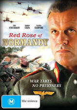 NEW! RED ROSE OF NORMANDY DVD R2 UK COMPATIBLE Classic 2011 WW2 War Movie