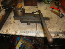 MACHINIST TOOL LATHE Tailstock Turret for Logan Lathe South Bend