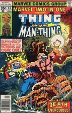 MARVEL TWO-IN-ONE THING & MAN THING #43 VERY FINE (1st SERIES 1974)